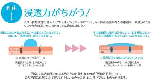 キョウキオラ(KYOKIORA)トライアルの特徴②